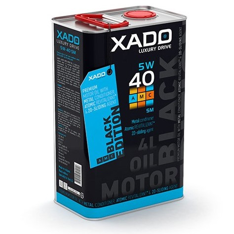 XADO 5W-40 SM/CF Luxury Drive BLACK EDITION